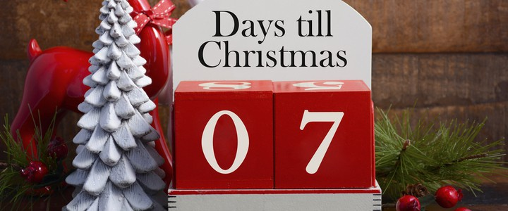 How Many Days Till Christmas From Today.7 Days Till Christmas Unusual Festive Gifts Balance