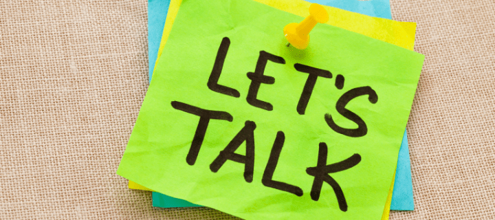 How to start talking about money
